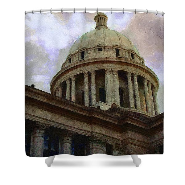 Oklahoma Capital Shower Curtain