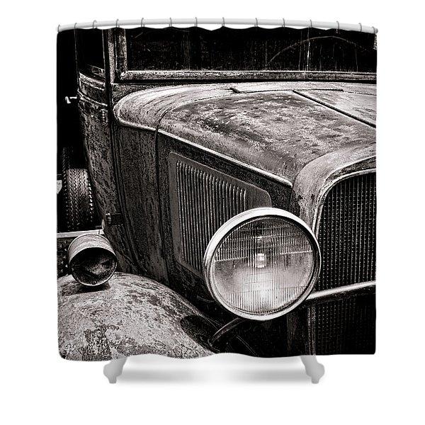 Ol' Trucky Shower Curtain
