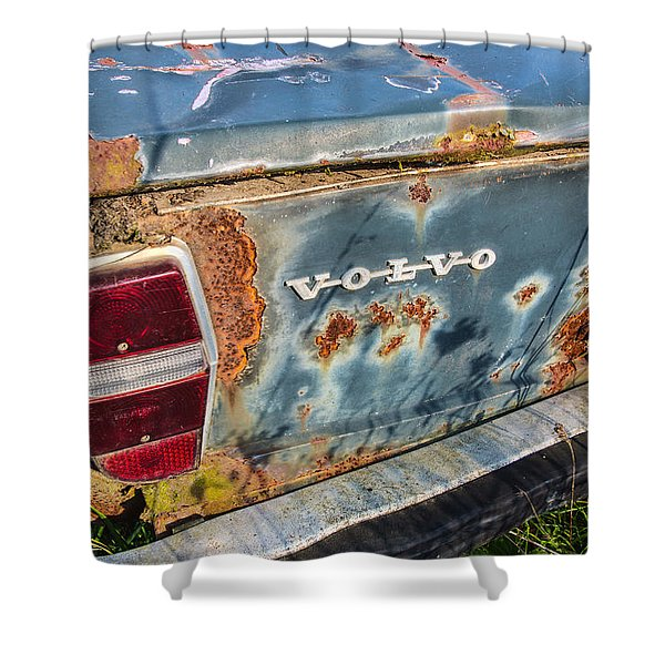 Old Aged Shower Curtain