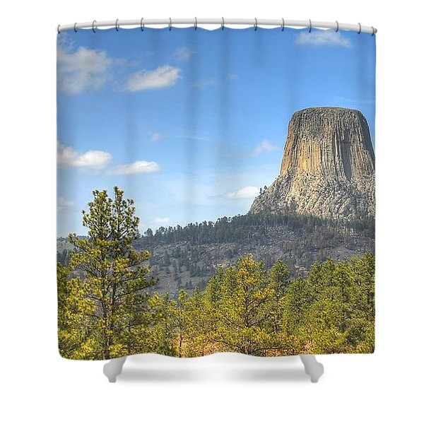Old As The Hills Shower Curtain