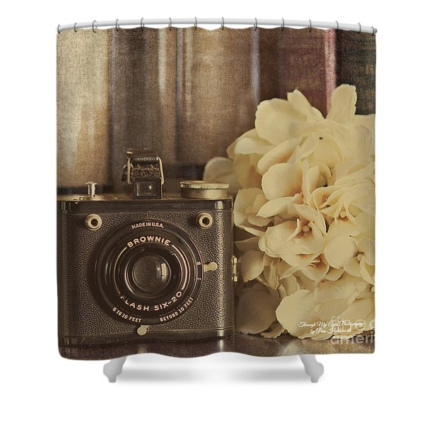 Old Brownie Shower Curtain