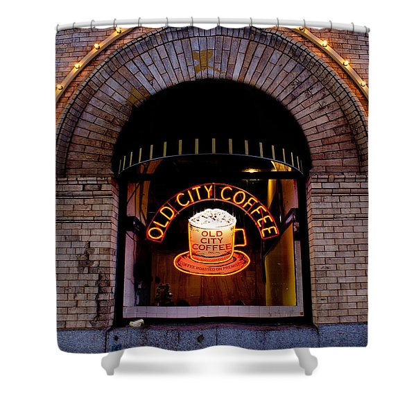 Old City Coffee Shower Curtain