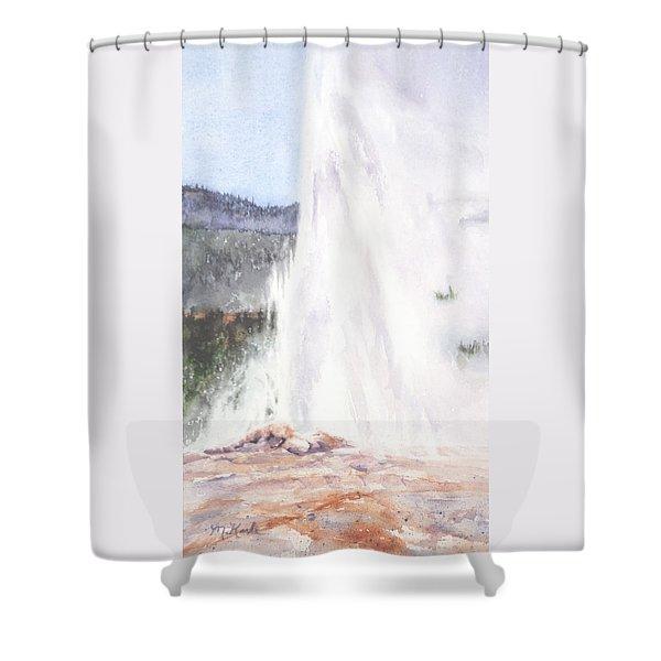 Old Friend Shower Curtain