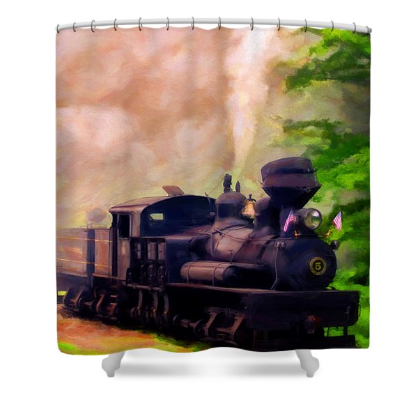 Old No. 5 Shower Curtain