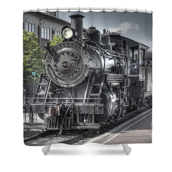 Old Number 40 Shower Curtain
