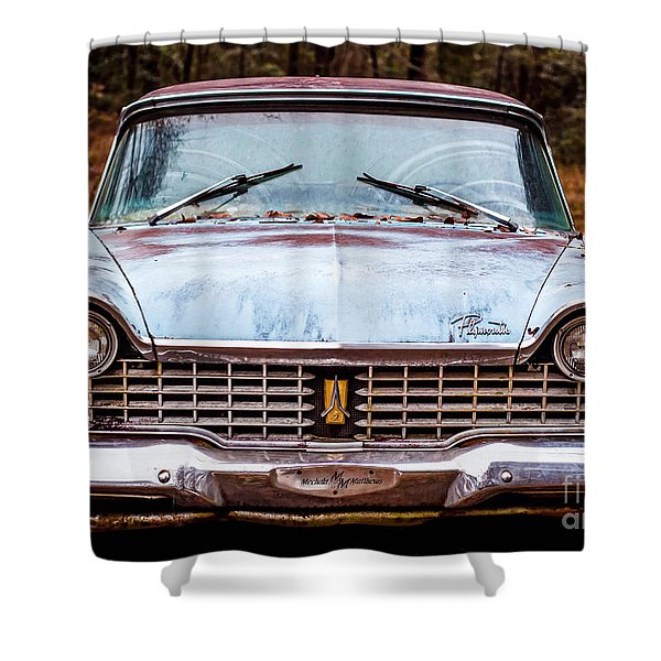 Old Plymouth Shower Curtain