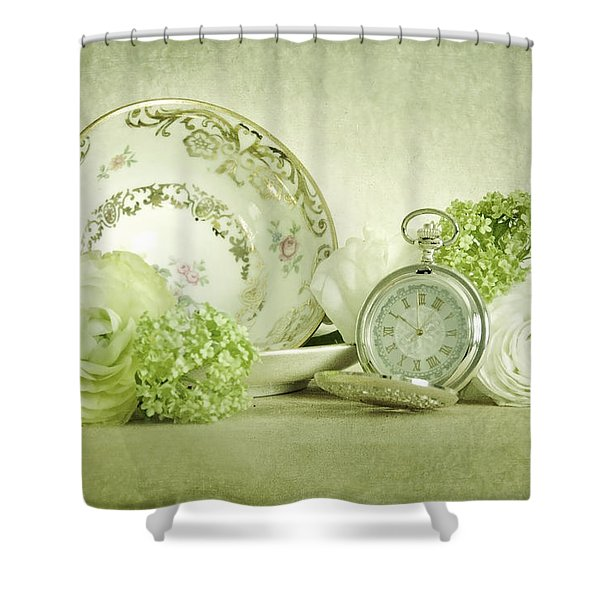 Old Spring Shower Curtain