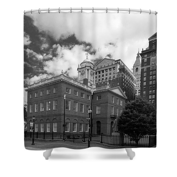 Old State House 15568b Shower Curtain