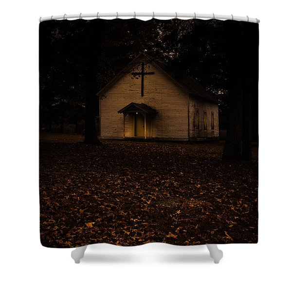 That Old Time Religion Shower Curtain