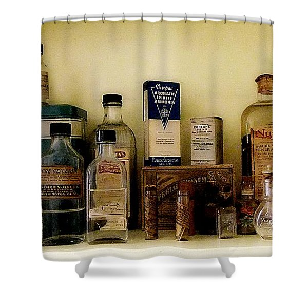 Old-time Remedies Shower Curtain