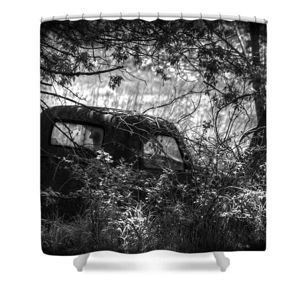 Old Times Good Times Shower Curtain