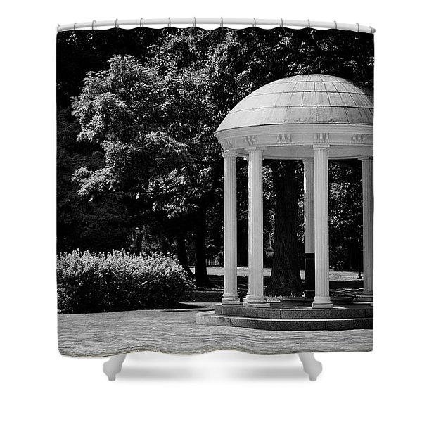 Old Well At Unc Shower Curtain