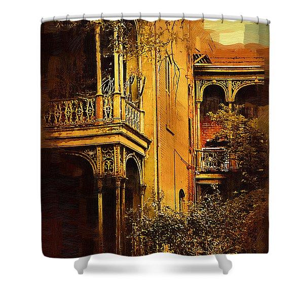 Old World Charm Shower Curtain