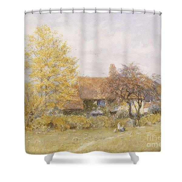 Old Wyldes Farm Shower Curtain