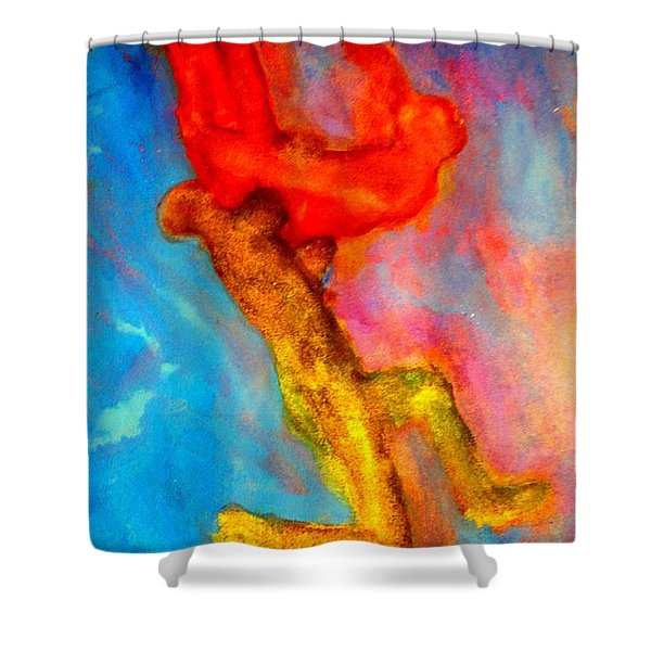 I Will Carry You Anywhere But Where Will You Go  Shower Curtain