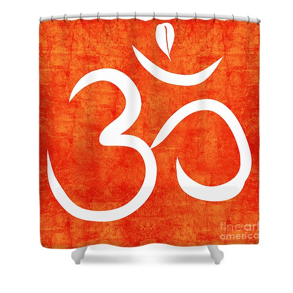 Om Spice Shower Curtain