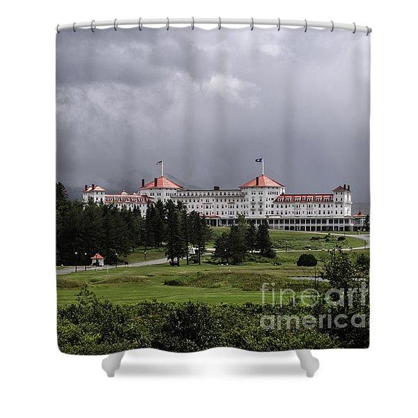 Omni Mt Washington Hotel Shower Curtain
