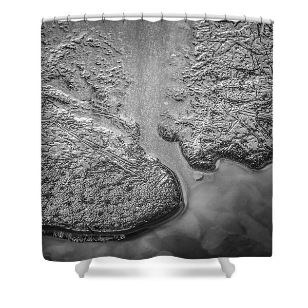 On Frozen Pond Collection 1 Shower Curtain