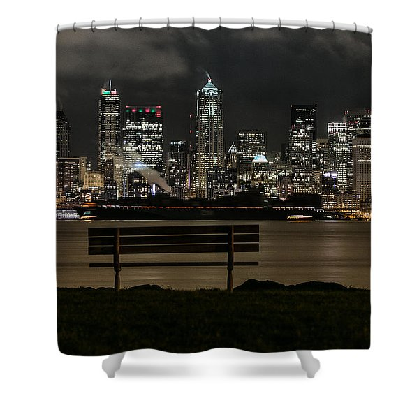 On The Water's Edge Shower Curtain