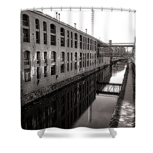 Once Industrial Georgetown Shower Curtain