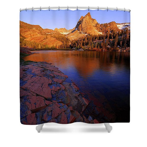 Once Upon A Rock Shower Curtain