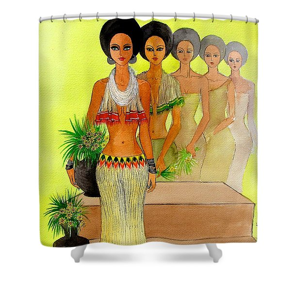 One Beauty Shower Curtain