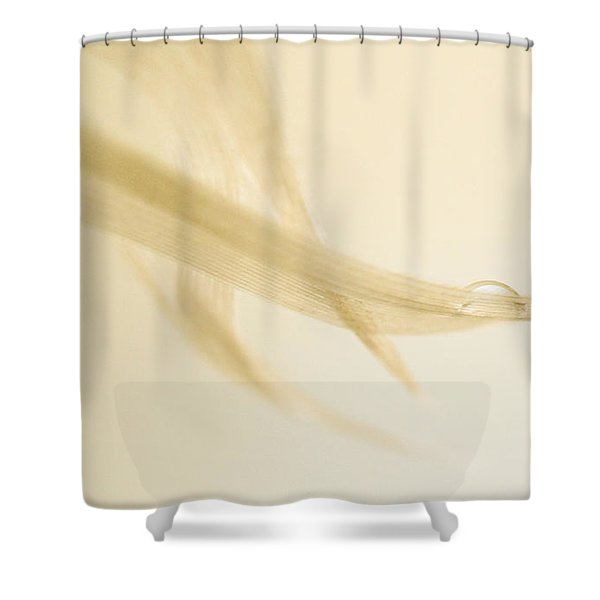 One Drop Of Water Shower Curtain