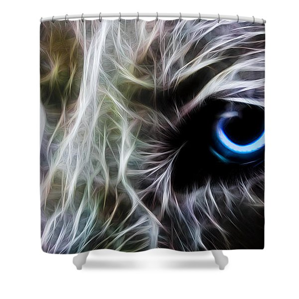 One Eye Shower Curtain