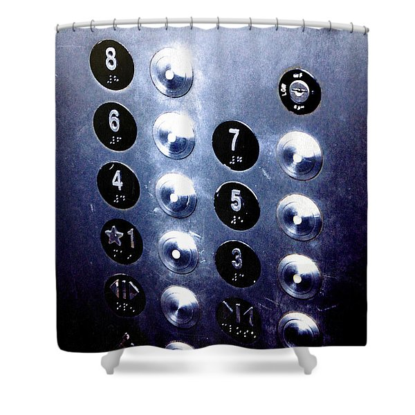 One Please... Shower Curtain