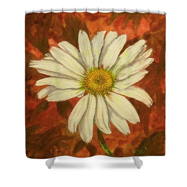 One Yorktown Daisy Shower Curtain
