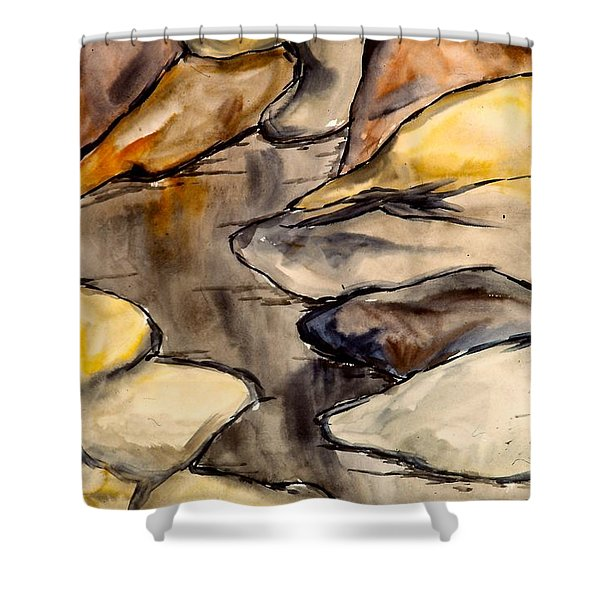 Only Rocks Shower Curtain