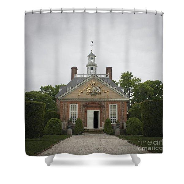 Open Door Squared Shower Curtain