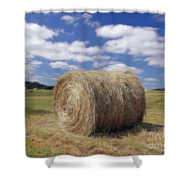 Open Field Shower Curtain