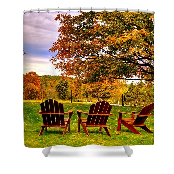 Open Seating Shower Curtain