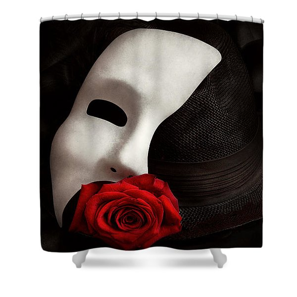 Opera - Mystery And The Opera Shower Curtain
