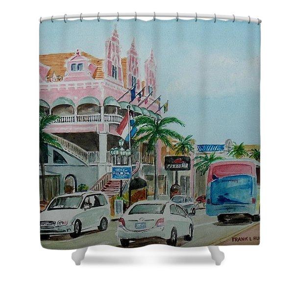 Oranjestad Aruba Shower Curtain