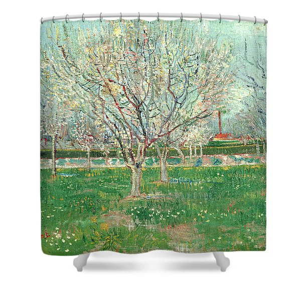 Orchard In Blossom, 1880  Shower Curtain