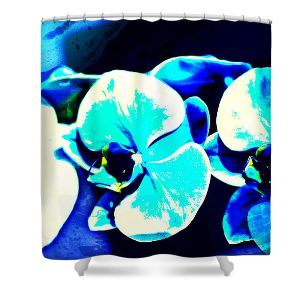 Orchids Of Ranetta Shower Curtain