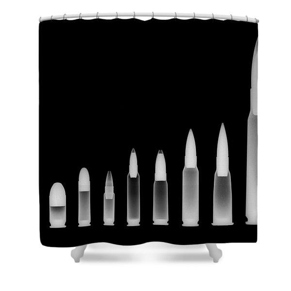 Ordnance Reversed Shower Curtain