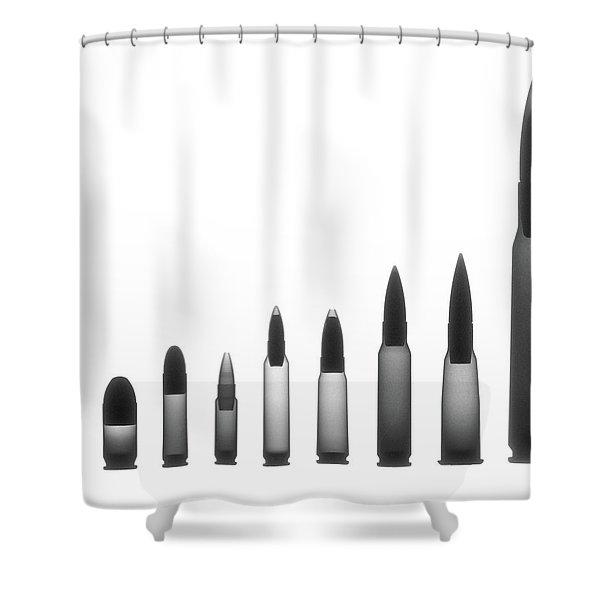 Ordnance X-ray Photograph Shower Curtain