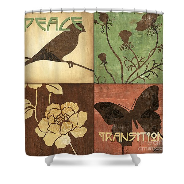 Organic Nature 1 Shower Curtain