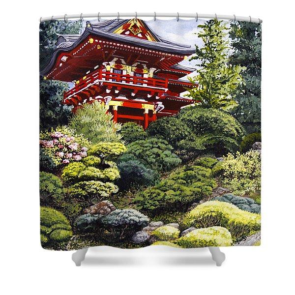 Oriental Treasure Shower Curtain