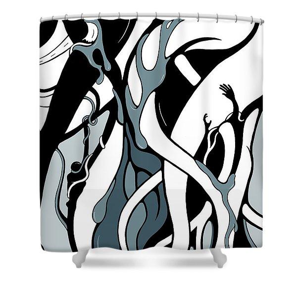 Origin Shower Curtain