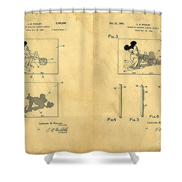 Mickey Mouse Shower Curtains