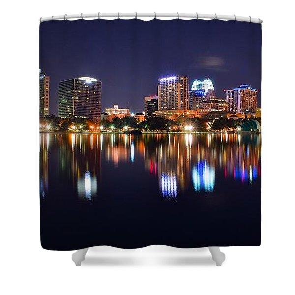 Orlando Panoramic View Shower Curtain