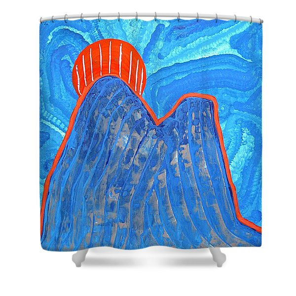 Os Dois Irmaos Original Painting Sold Shower Curtain
