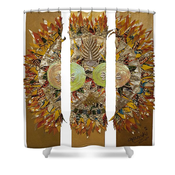 Osun Sun Shower Curtain