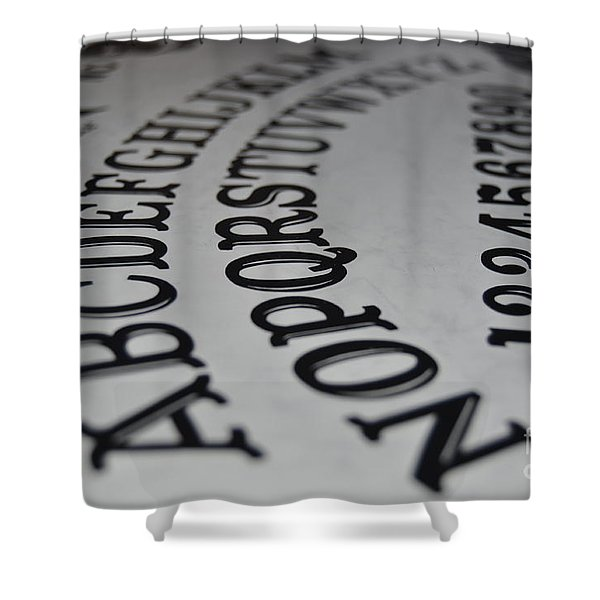 Ouija Board Shower Curtain