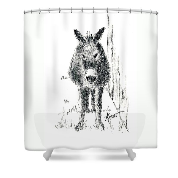 Our New Friend Shower Curtain