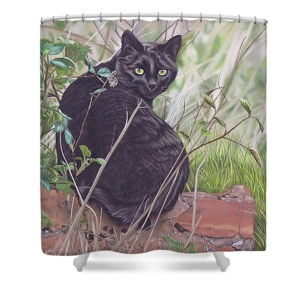 Out Hunting Shower Curtain